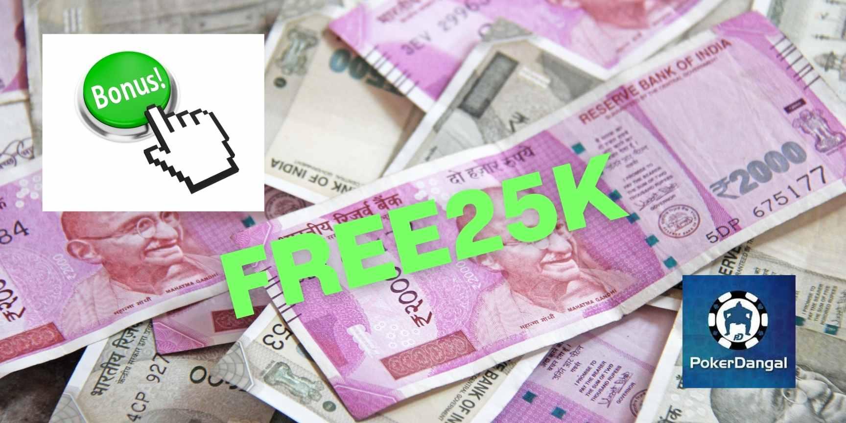 bonus code free25k