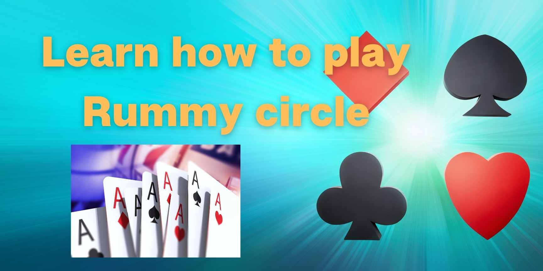 how to play rummy circle